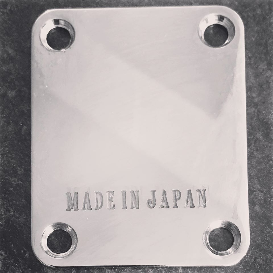 Made In Japan Telecaster, Stratocaster Neckplate